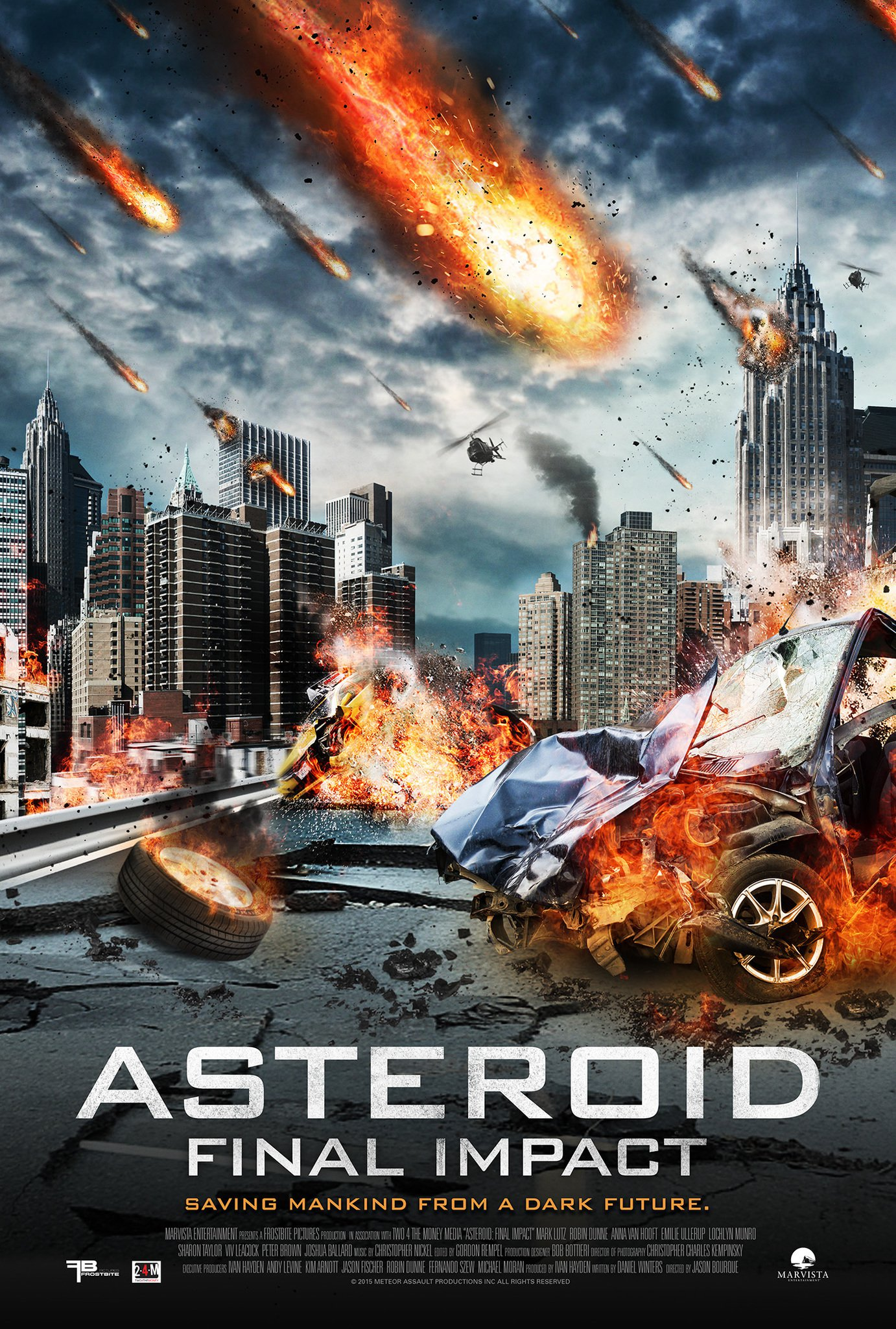 """Poster for the movie """"Asteroid: Final Impact"""""""