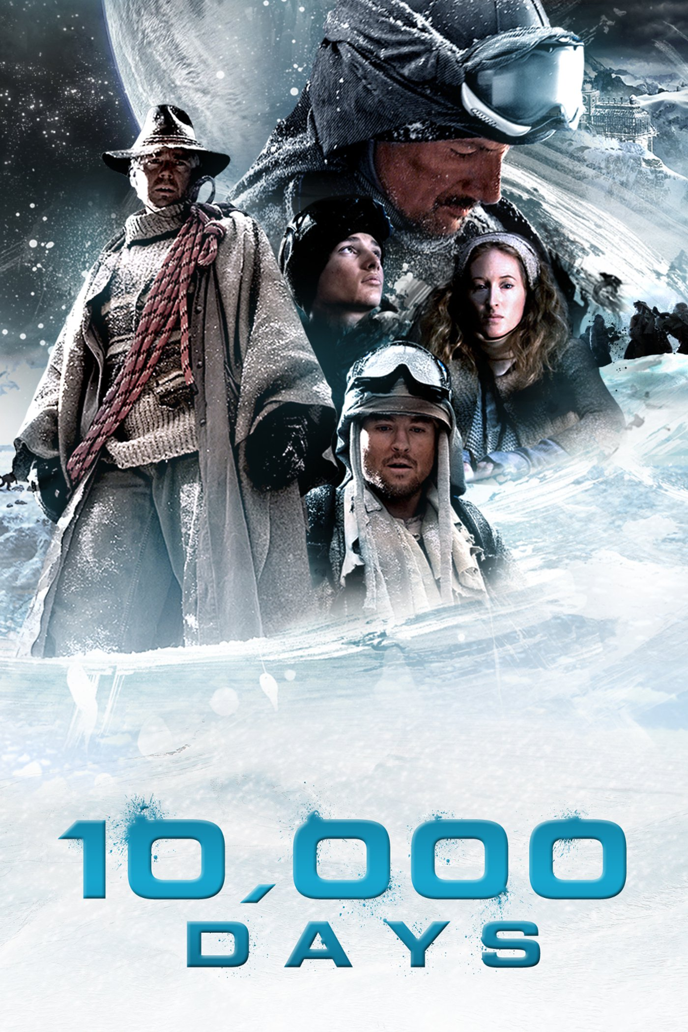 "Poster for the movie ""10,000 Days"""