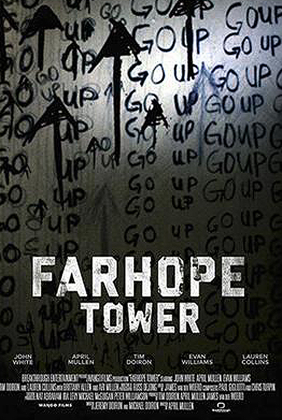 """Poster for the movie """"Farhope Tower"""""""