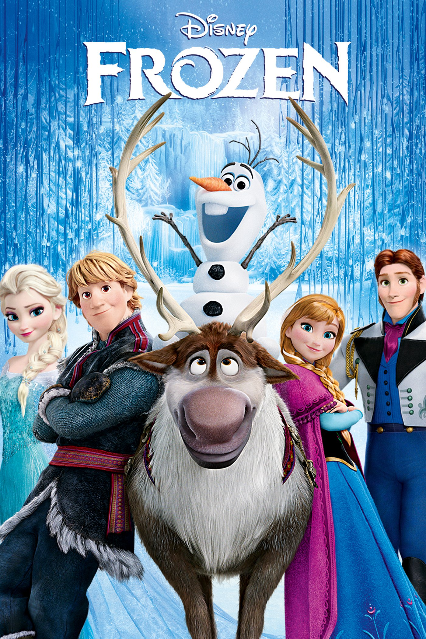 "Poster for the movie ""Frozen"""