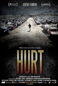 """Poster for the movie """"Hurt"""""""