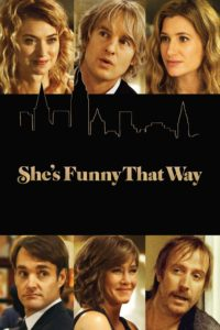 "Poster for the movie ""She's Funny That Way"""